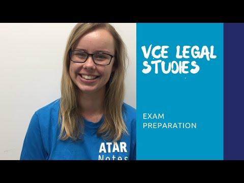 VCE Legal Studies | Exam Preparation