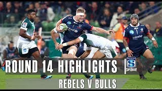 ROUND 14 HIGHLIGHTS: Rebels v Bulls – 2019