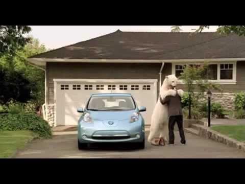 Breezcar - Spot Nissan LEAF Ours Polaire