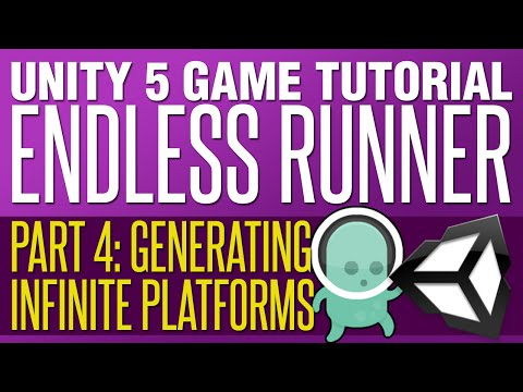 Unity Endless Runner Tutorial #4 - Generating Infinite Platforms