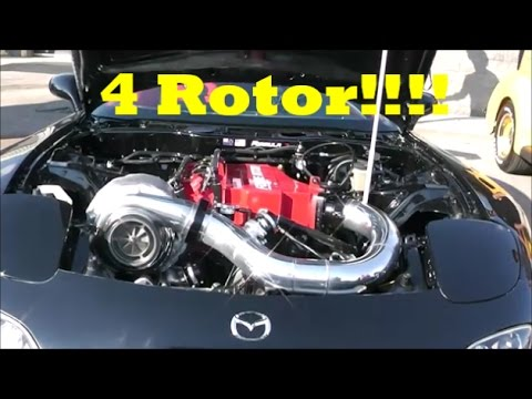 how to add a 3rd rotor rx7