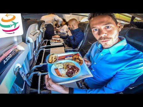 Lufthansa Business Class Auf Kurzstrecke Nach Frankfurt | YourTravel.TV