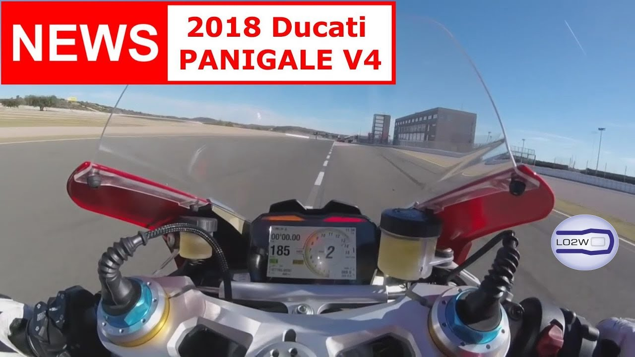 2018 Ducati Panigale V4 Top Speed Acceleration V4 Engine Brutal