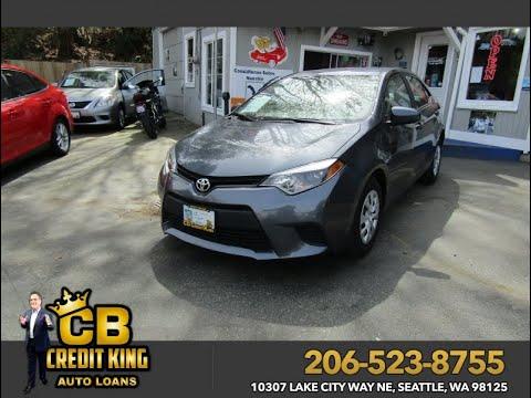 2017 Toyota Corolla Seattle Washington