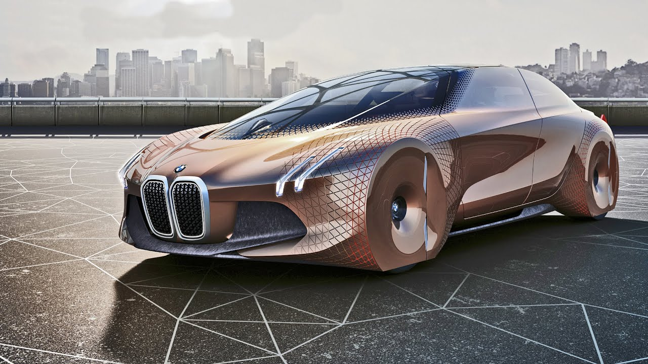 BMW Vision Next 100 Concept - YouTube