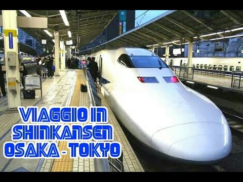 Osaka - Tokyo in Shinkansen, il super treno proiettile giapponese