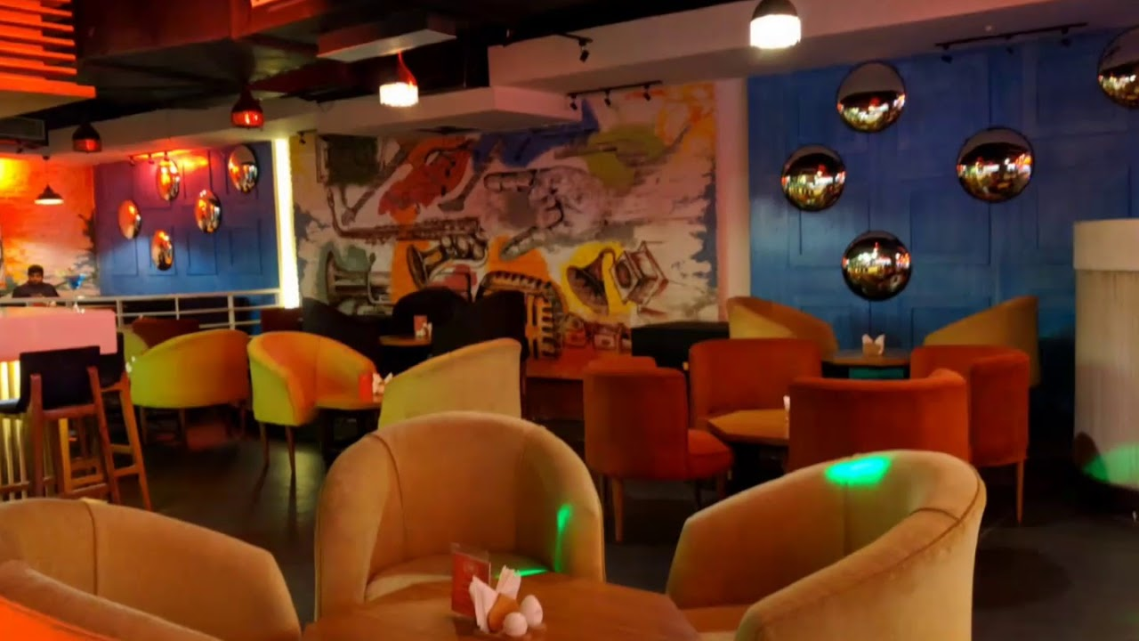 Soiree Bar lounge at Garden Galleria Mall Noida - YouTube