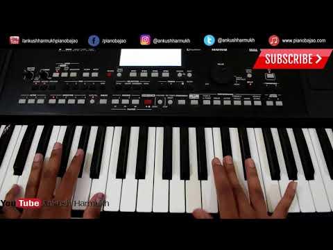 Dholida Dhol Re Vagad | Gujrati Song | Piano/Keyboard Tutorial