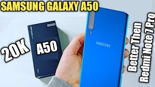 Samsung Galaxy A50 | Samsung A50 UNBOX | Specification, Price, Camera | Launch date in India | Hindi