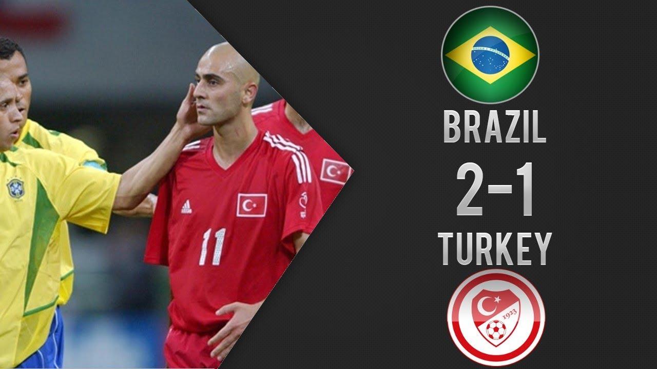 Türkiye 1-2 Brezilya | Maç Özeti | 2002 Dünya Kupası Grup Karşılaşması