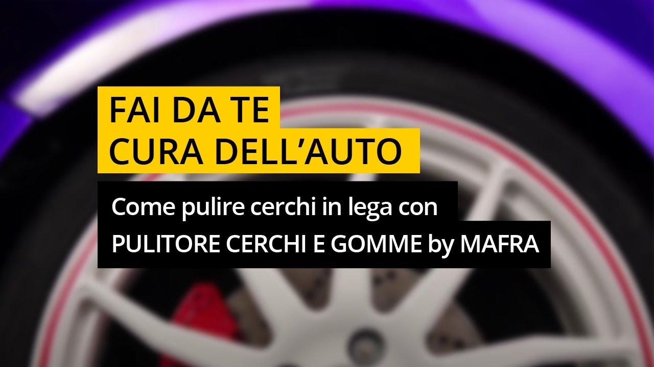 brand new ab714 697a0 Come pulire cerchi in lega con PULITORE CERCHI E GOMME by MAFRA