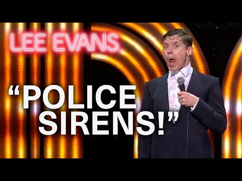 Police Horses And Spotting Murderers - Lee Evans: Monsters