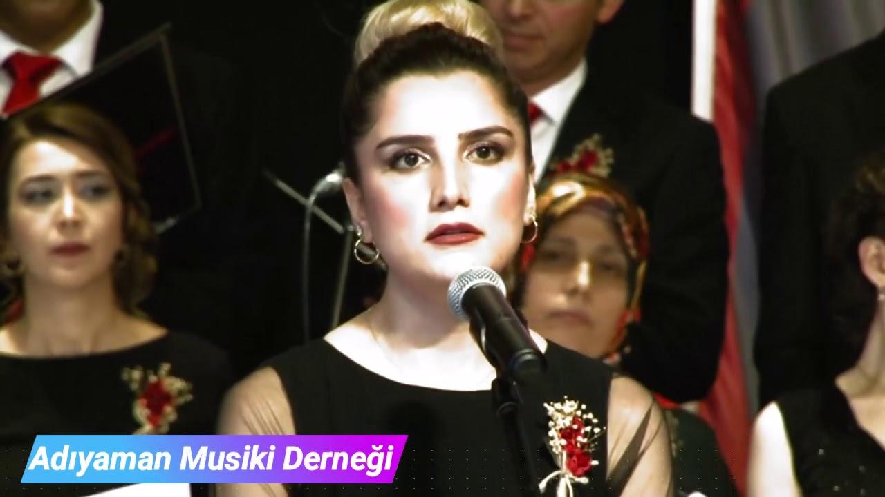 Adıyaman Türk Sanat Müziği Konseri Söyleyemem Derdimi (Nafiye Çilcan)