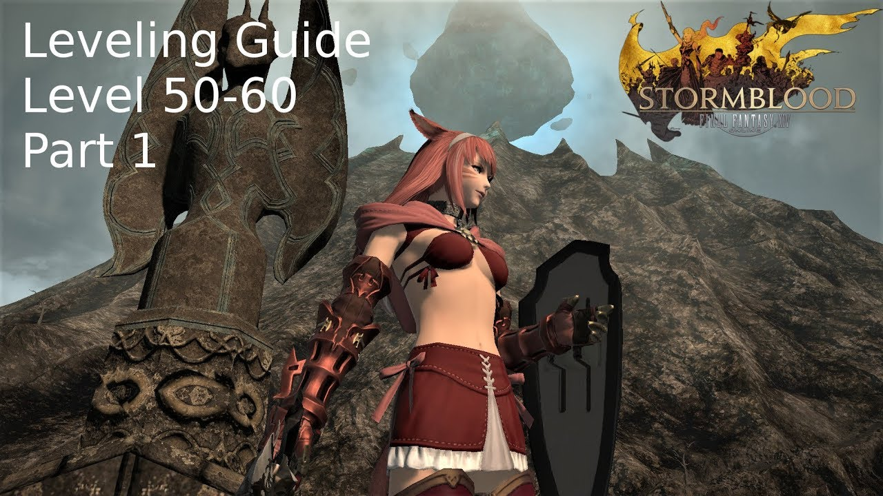 FFXIV - Leveling Guide - level 50 - 60 part 1