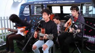 "Last Dinosaurs perform "" Zoom "" Exclusively for OFF GUARD GIGS, Lovebox, London, 2012"