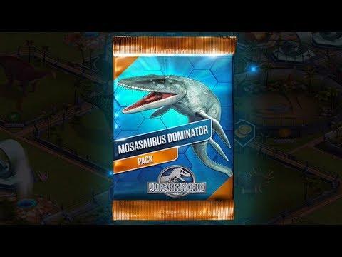 MOSASAURUS DOMINATOR Pack - Jurassic World The Game