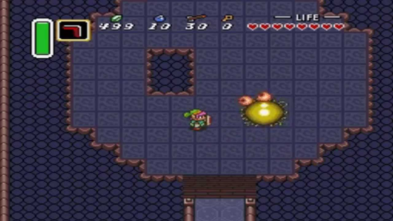 Zelda: A Link to the Past - Moldorm Pause Trick