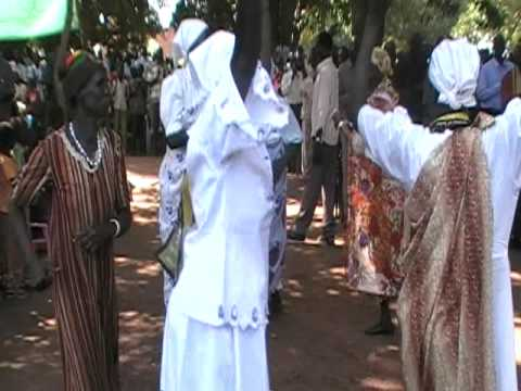 Ladies dancing at church