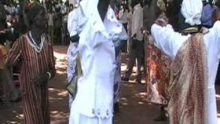 Ladies dancing at church