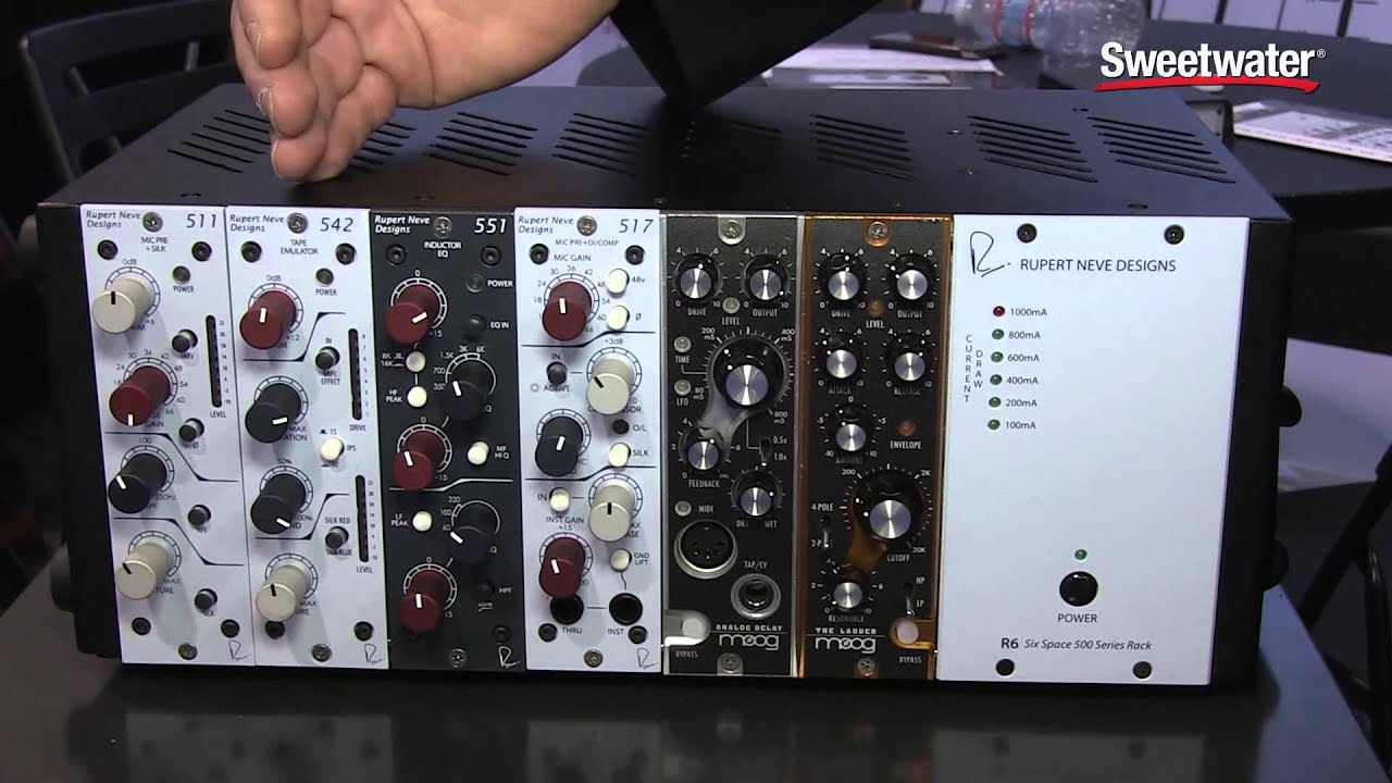 rupert neve designs r6 500 series rack sweetwater at 88943