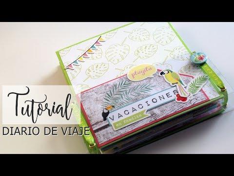 Tutorial Travel Book - Diario de Verano