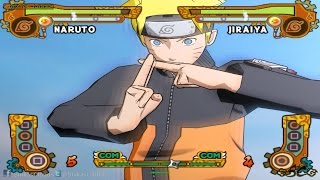 【GTX TITAN X】Native 4K 2160p UHD | MAX SETTINGS【NSUN5】【NARUTO VS JIRAIYA】