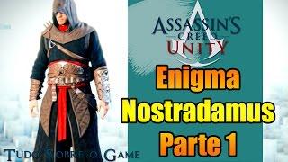 ASSASSINS CREED UNITY NOSTRADAMUS 1 - MERCURIO DESAFIO PARA LIBERAR ROUPA ESPECIAL!
