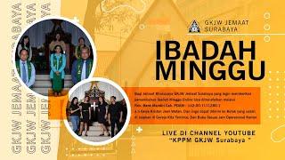 IBADAH MINGGU | 18 OKTOBER 2020 | GKJW JEMAAT SURABAYA