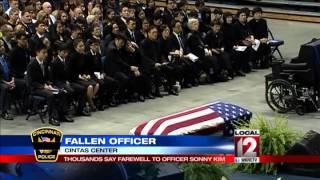 Final call for fallen police Officer Sonny Kim