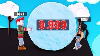 the biggest snowball of ROBLOX Server ❄️