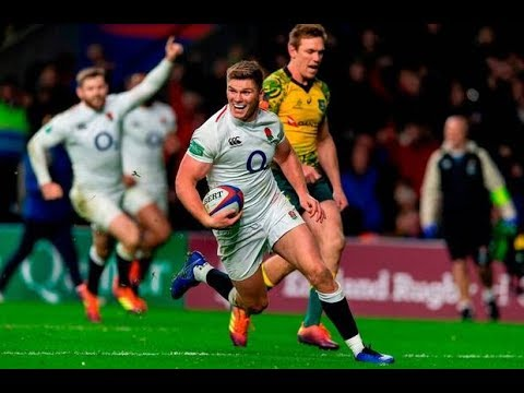 All England Tries in 2018