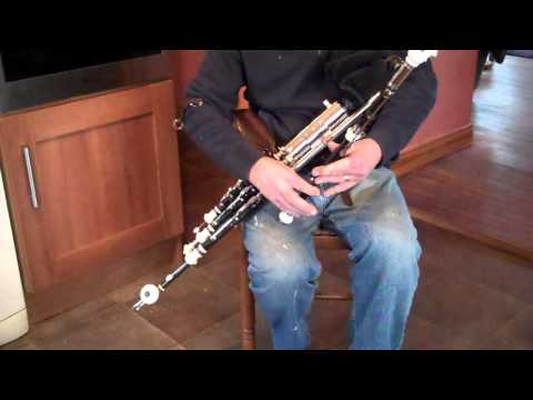 Ray Sloan - New Full Set of Uilleann Pipes for a Canadian customer.