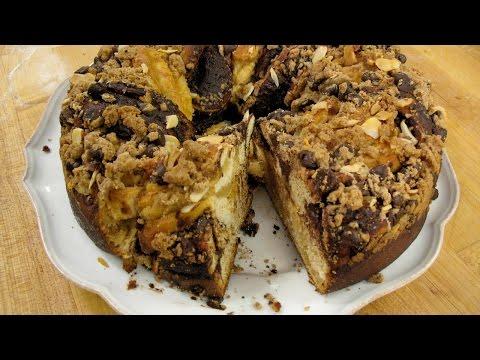 chocolate-almond-coffee-cake