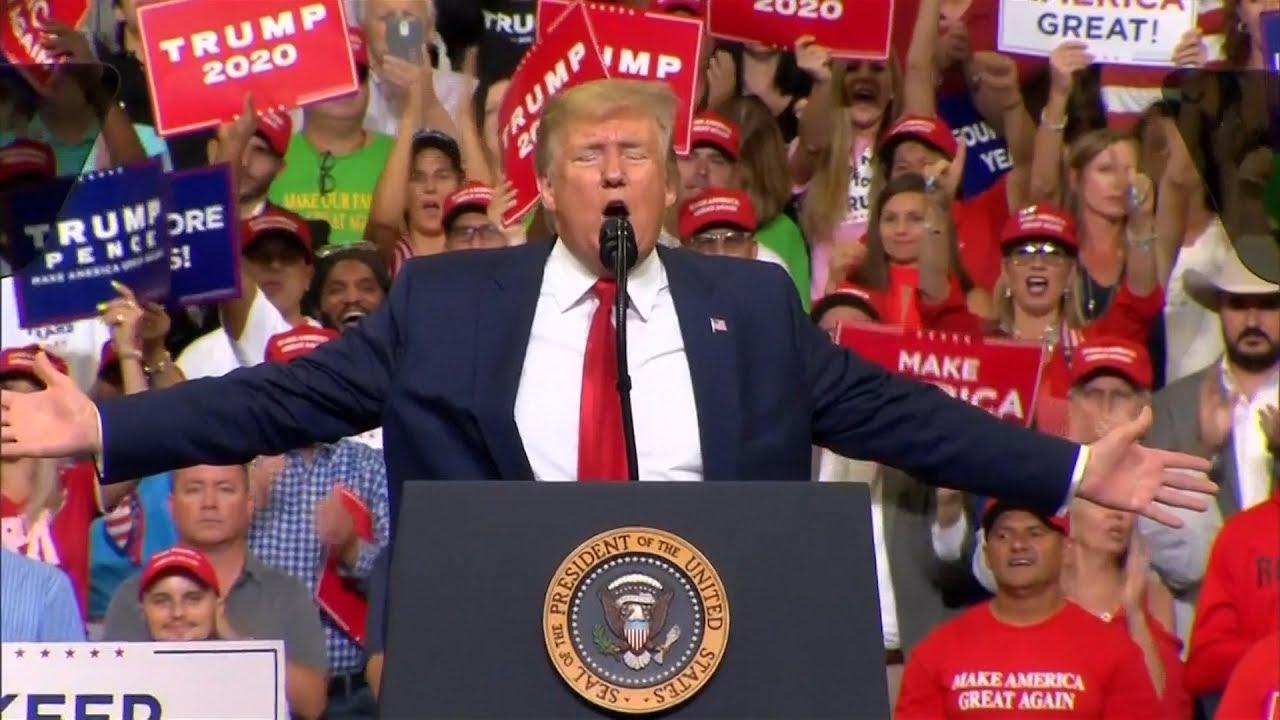 """Trump lanzó su campaña de reelección: """"Mantener grande a EEUU"""""""