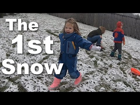 Autism| The First Snow of the Year