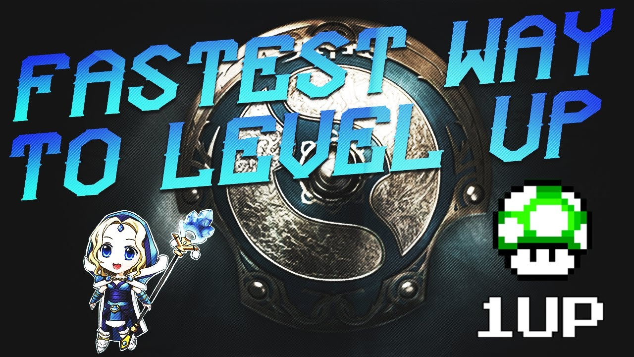 dota 2 fastest way to level up the ti7 battle pass giveaway