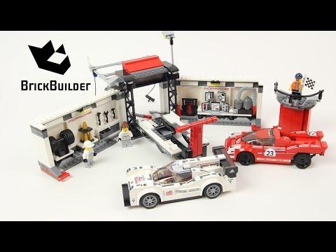lego speed champions 75876 porsche 919 hybrid and 917k pit. Black Bedroom Furniture Sets. Home Design Ideas