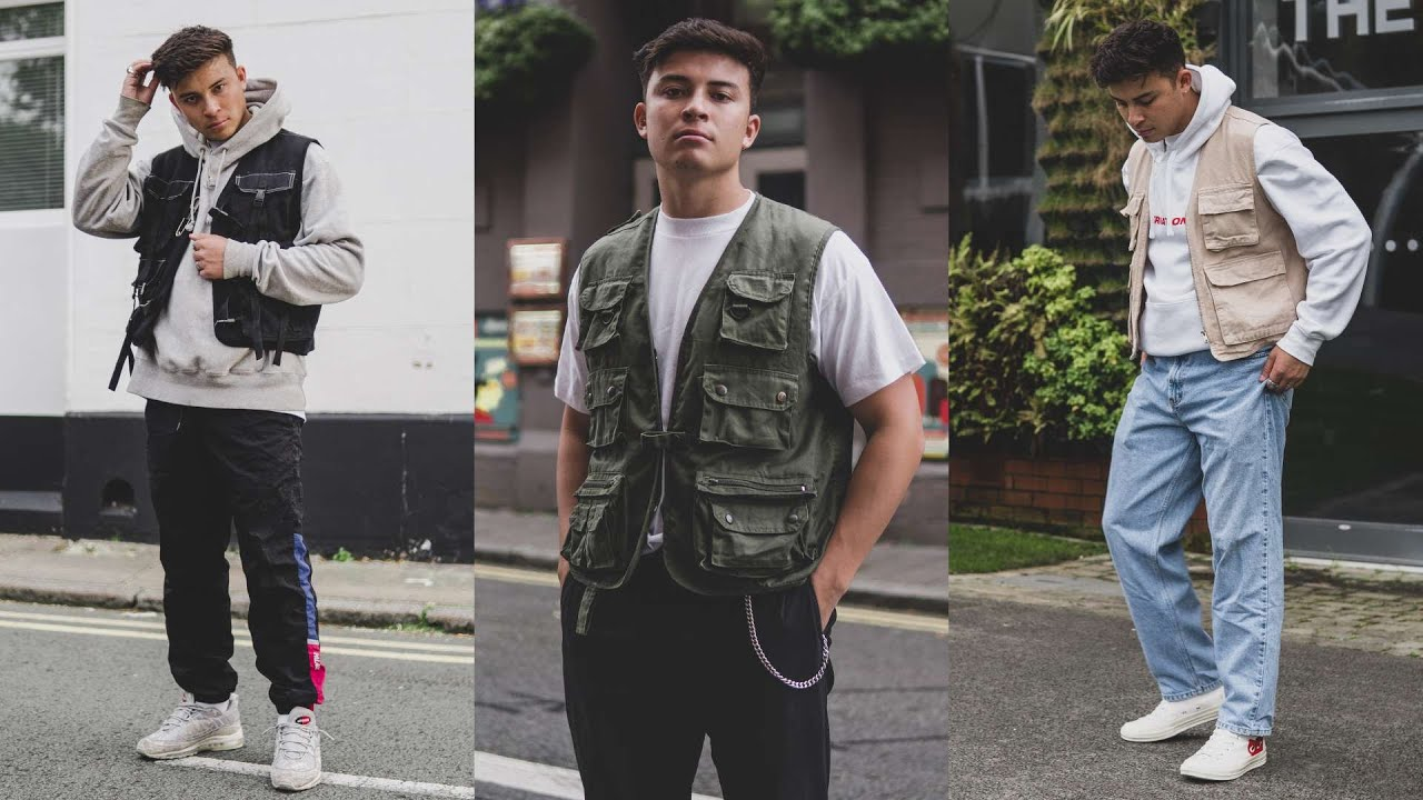 How To Style Tactical Vests | Men's Fashion Lookbook