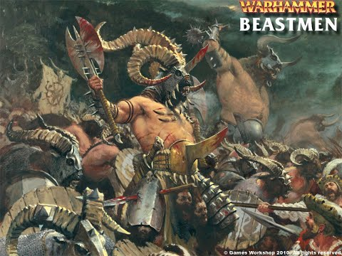 Total War  WARHAMMER 2 Beastmen DLC UNITS!!! |
