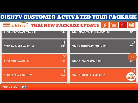 DISH TV PACKAGE SELECT AND ACTIVATED PROCESS - YouTube
