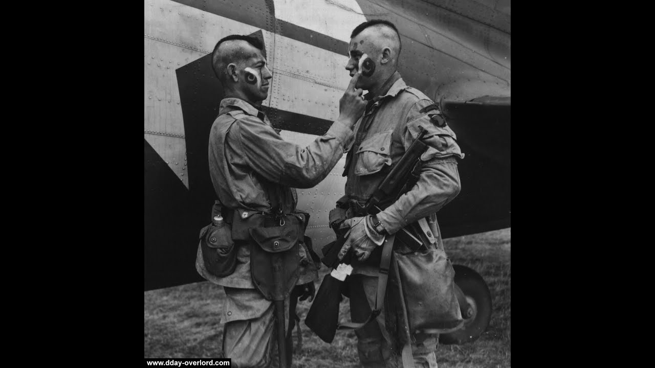 D Day Invasion Paratroopers D-Day US Airborne Oper...