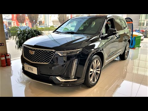 2020-cadillac-xt6-28t-7seater-walkaround--china-auto-show(2020款凯迪拉克xt6-28t,外观与内饰实拍)