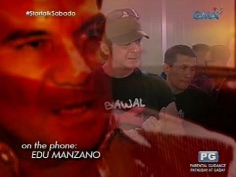 Startalk: Edu Manzano at Ronnie Ricketts, ano ang dahilan ng napaulat na away ng dalawa?