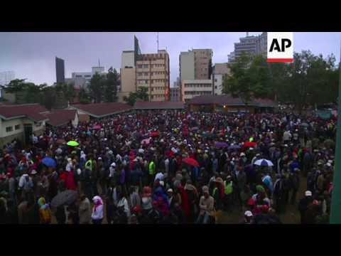 Kenya election observer 'impressed' by turnout