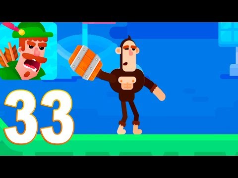 Bowmasters - Mr. Moyer Gameplay Walkthrough Part 33 (iOs, android)