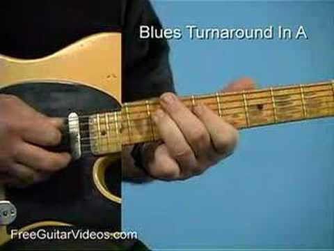 turnaround tab blues licks