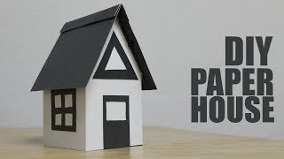How to make a Paper House Easy - Craft Activities