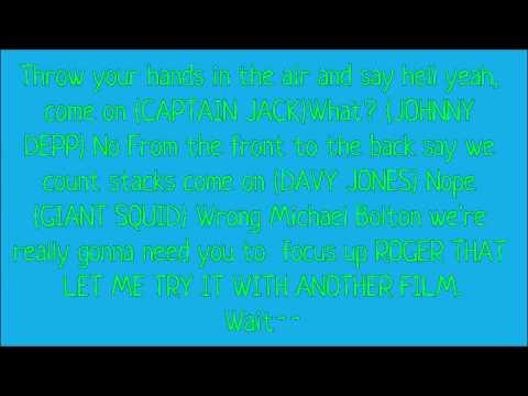 lyrics jack sparrow lonely island