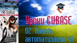 Уроки Cubase PRO. Панель автоматизации ч1 (Automation Panel p1) (Cubase Tutorial PRO 02)