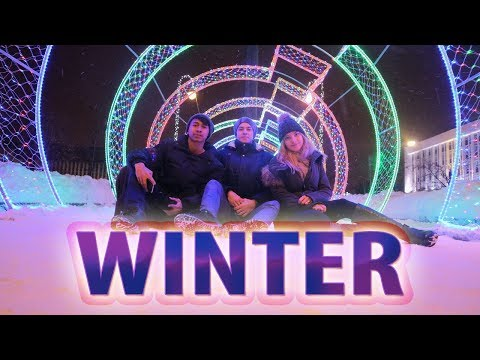 WINTER VLOG IN RUSSIA.
